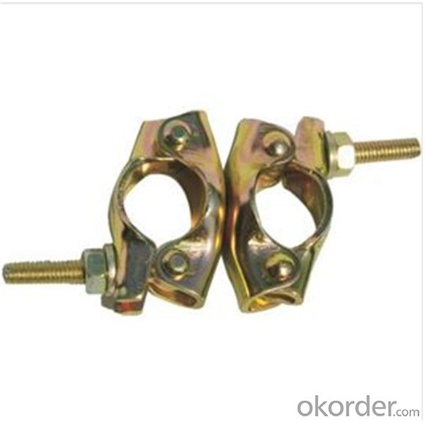 British Pressed Swivel Coupler  for Scaffolding Q235 BS1139 Standard CNBM