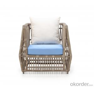 Aluminum Frame Rattan Outdoor Patio Sofa Sets