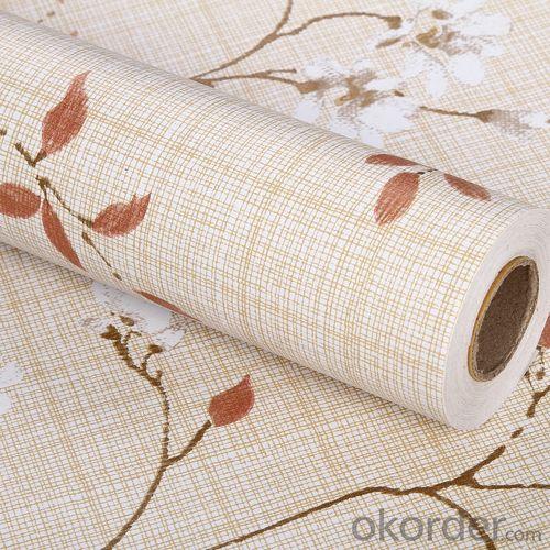 Self-adhesive Wallpaper PVC Wallpaper Designs Transparent  Foil No Glue Wallpaper