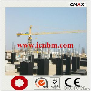 Tower Crane China Branded with CE Certificate