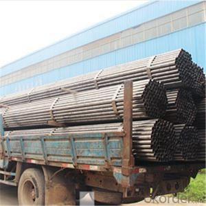 Black Scaffolding Tube 48.3-48.6*1.8-4.0mm Q345 Q235 Steel Standard BS1139 for Sale CNBM