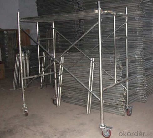 H Frame Steel Scaffolds Types Movable CNBM