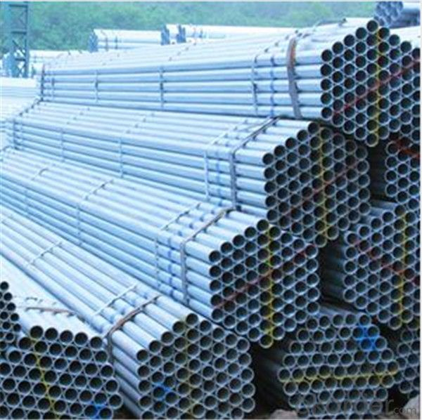 Hot Dip Galvanized Scaffolding Tube 48.3*4.0*6000mm Q235B Steel  EN39/BS1139 for Sale CNBM