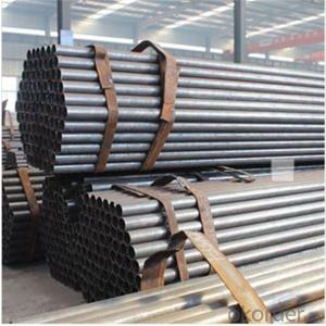 Black Scaffolding Tube 48.3*1.8 Q235 Steel Standard EN39/BS1139 for Sale CNBM