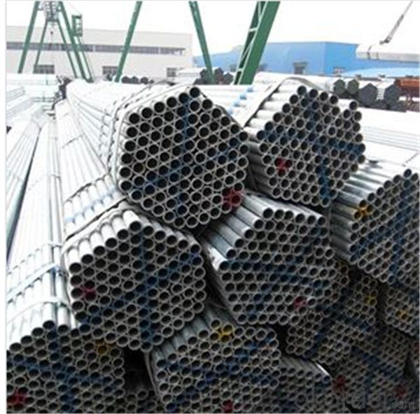 Hot Dip Galvanized Scaffolding Tube 48.3*3.0*6000mm Q235B Steel Standard EN39/BS1139 for Sale CNBM
