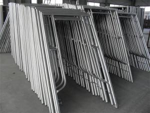 H-Frame Scaffolding System with Painting