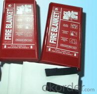 Fire Blanket Packaged in PVC Box Professional Supply