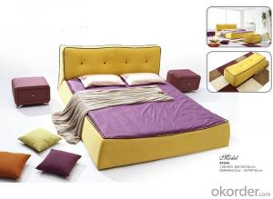 Bedroom Fabric Bed with Fashionable Style