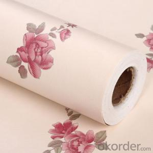 Self-adhesive Wallpaper Economic Modern Design PVC Korean Wallpaper