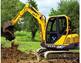 Brand NEW Cmax mini Excavator YC35 Wheel Loader for Sale