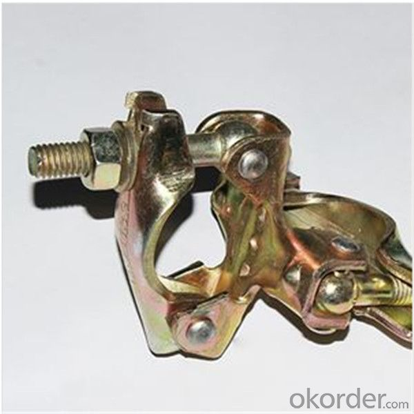 British Pressed Double Coupler for Scaffolding Q235 Q345 CNBM