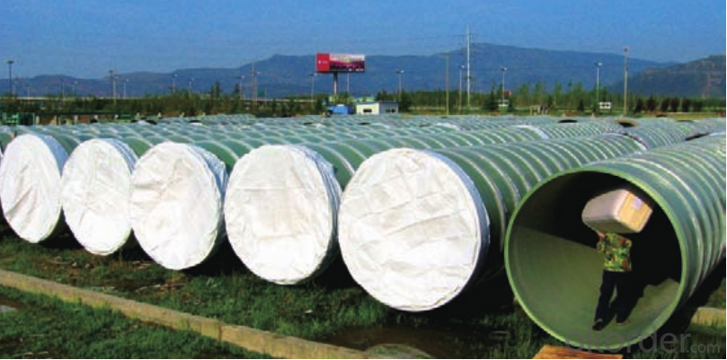 GRP FRP Pipes Sea Water Pipe Series DN 2000