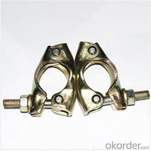 British Pressed Swivel Coupler  for Scaffolding Q235 Q345 CNBM
