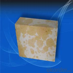 Wear Resistance Silica Brick , Silica Mullite Brick for Cement Kilns