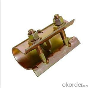 British Sleeve Coupler  for Scaffolding Q235 Q345 CNBM