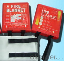 Fiberglass Fire Blanket with Top Standard Package