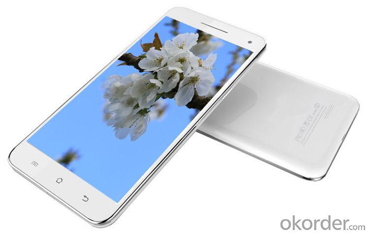 6.5inch IPS FHD Screen Mtk6582 Quad Core 2GB RAM 32GB ROM 3G Android Smart Mobile Phone