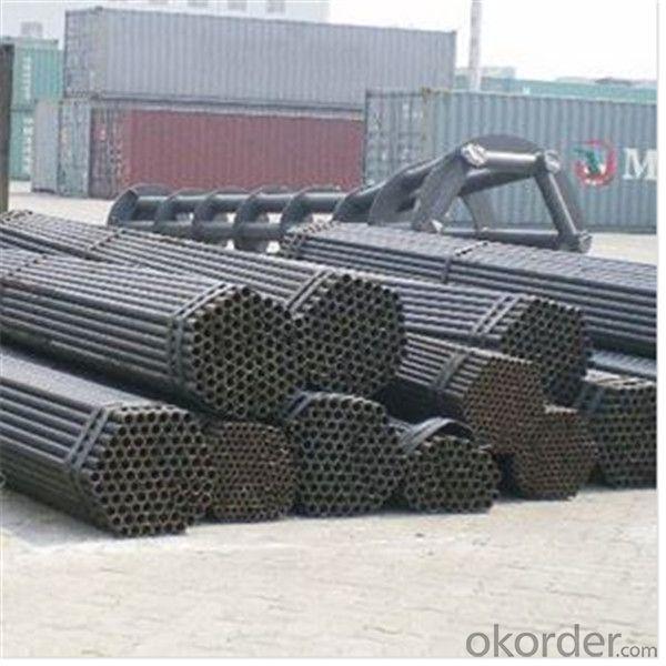 Black Scaffolding Tube 48.6*2.75 Q235 Steel Standard EN39/BS1139 for Sale CNBM