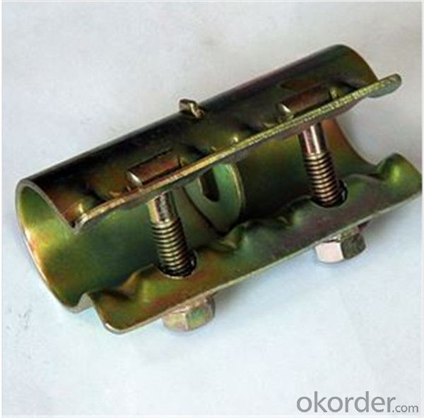 British Pressed Sleeve Coupler  for Scaffolding Q235 Q345 CNBM