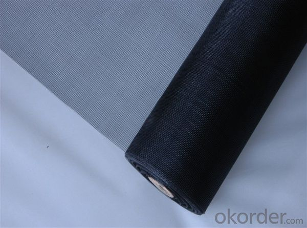 Fiberglass Mosquitoes Screen Mesh with 14*14 in Dark Black