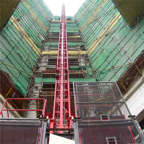 Building Hoist SC250/250 Doule Cage with CE