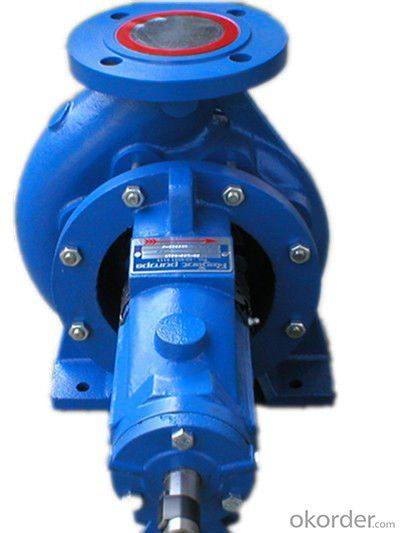 DIN 24255 Horizontal Centrifugal End Suction Water Pump