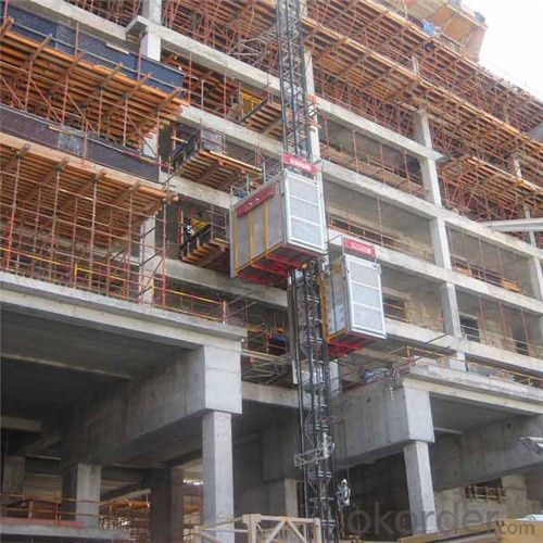 Twin Building Hoist SC320/320 with ISO Certificate