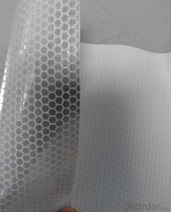 PVC Honeycomb Reflective Vinyl Roll Honeycomb Reflective Flex Banner