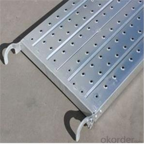 Catwalk for Ringlock System Metal Planks with Hook 500*50*1.8*900-3000mm CNBM