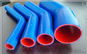 Rubber  Silicone  Hose  High Pressure  90 Degree Blue