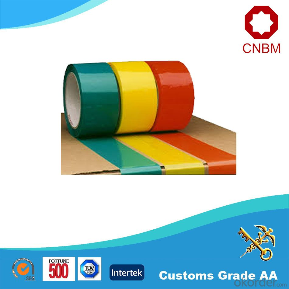Bopp Tape Tan Colour Resistance to Cold Heat and Waterproof High Quality