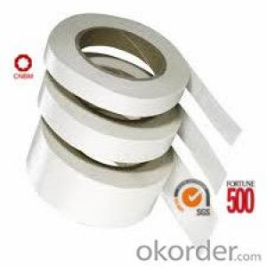 Double Sided Tissue Tape SGS and ISO9001 Certificate White and Black Color
