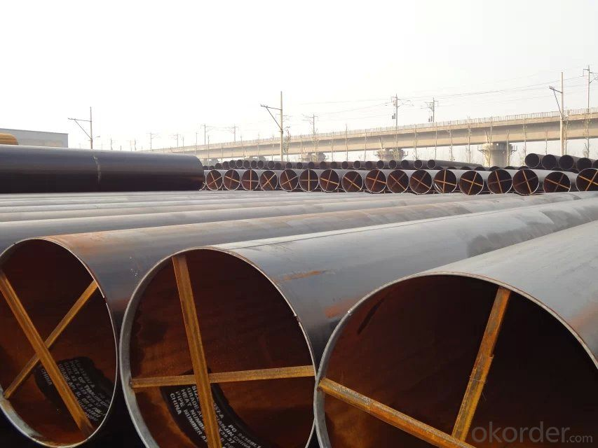 Large diameter double sided submerged arc welded pipes