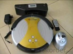 Robot Vacuum Cleaner with Time Setting and Remote Control CNRB002