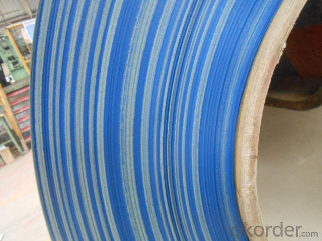 Pre-Painted Steel Coil  High Quality Blue Color PPGI