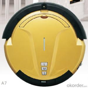 Robot Vacuum Cleaner with Remote Control Intelligent Auto Charging Cyclonic Robot Vacuum Cleaner