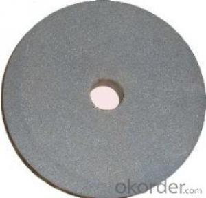 Rubber Centerless Grinding Wheels Made in China