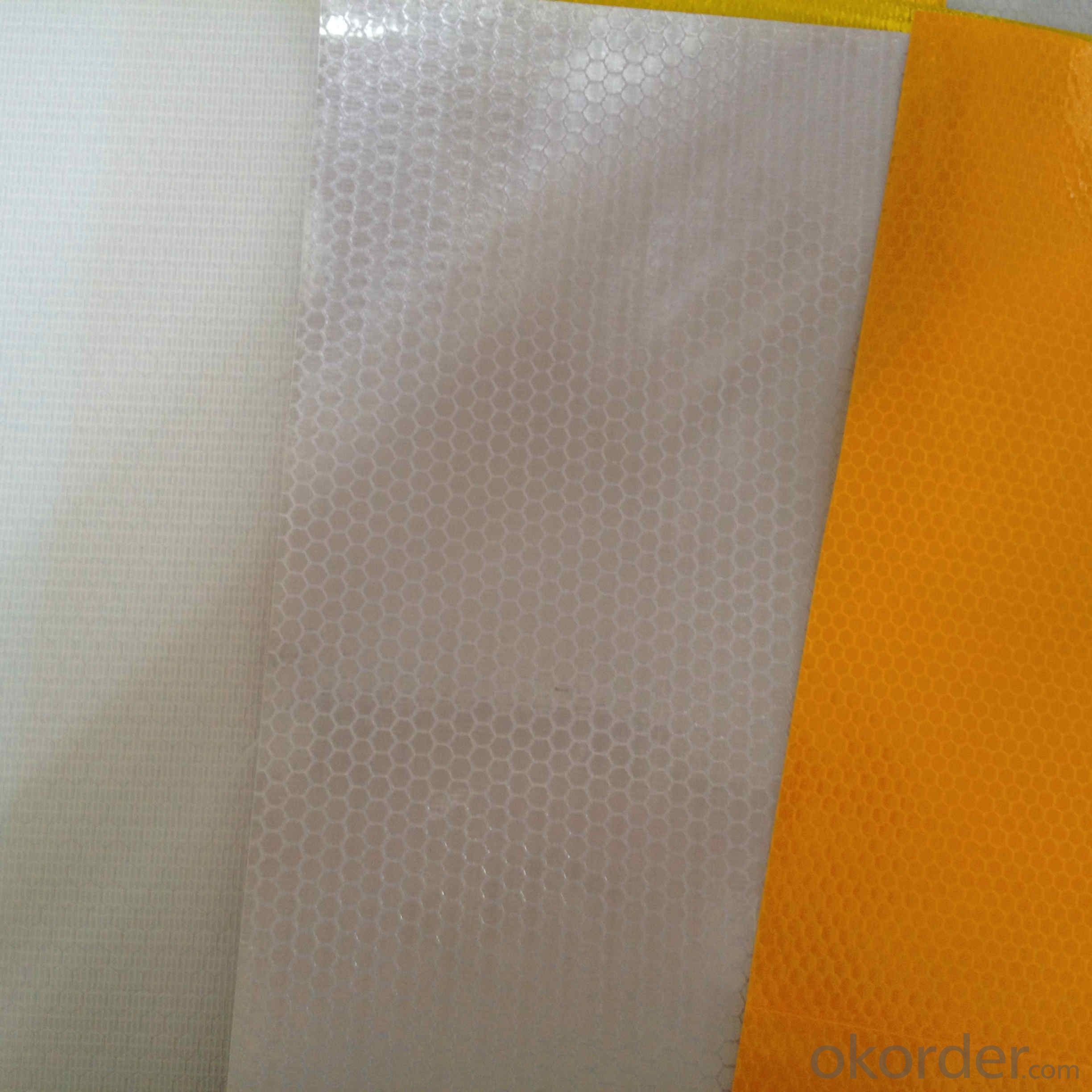 PVC Honeycomb Reflective Vinyl Roll Advertising Grade Reflective PVC Sheet