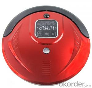 Cyclonic Robot Vacuum Cleaner Cordless Rechargeable Intelligent Auto Charging