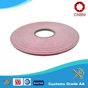 Double Sided Foam Tape EVA Foam Hot Melt/Solvent Adhesive White Release Paper China Manufacturer