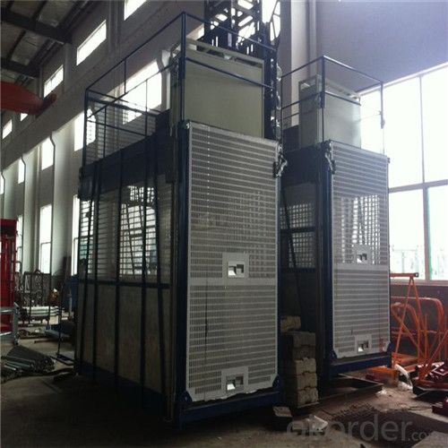 Building Hoist 3200kg Single Cage Factory