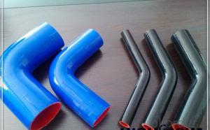 Rubber  Silicone  Hose  High Pressure  90 Degree Black