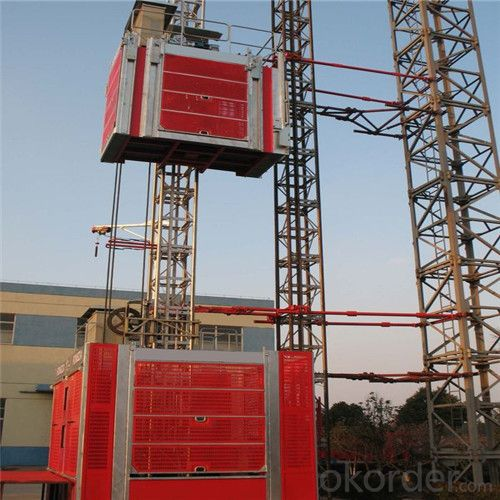 Buy Single Building Hoist New Lifting Machines Price Size