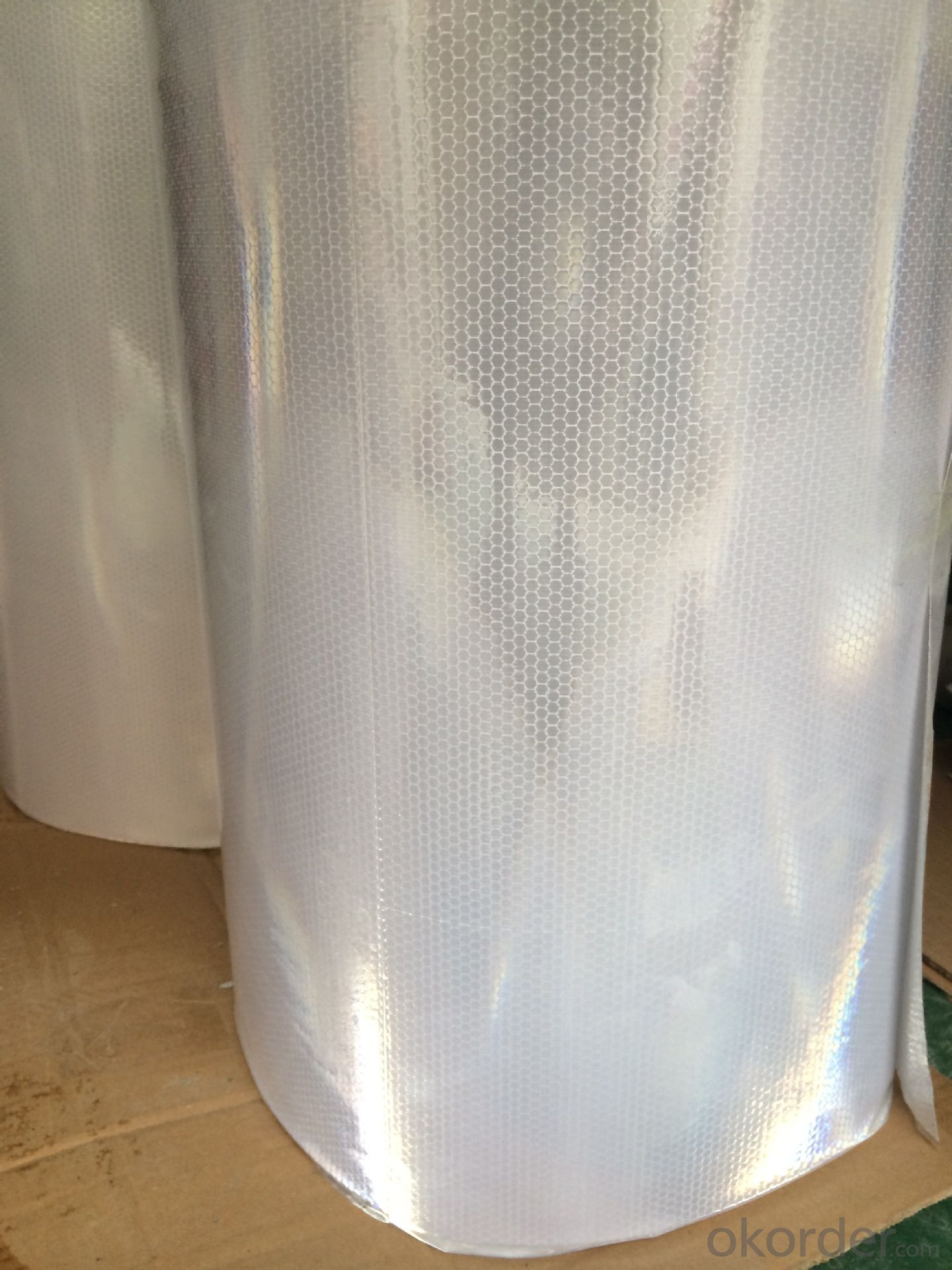 PVC Honeycomb Printing Films Reflective Stickerl Roll