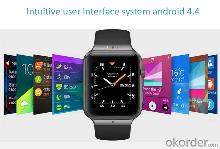 Smart Phone Watch Android 4.4 System 1.54