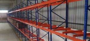 Beam Type Pallet Rack System for Warehouse