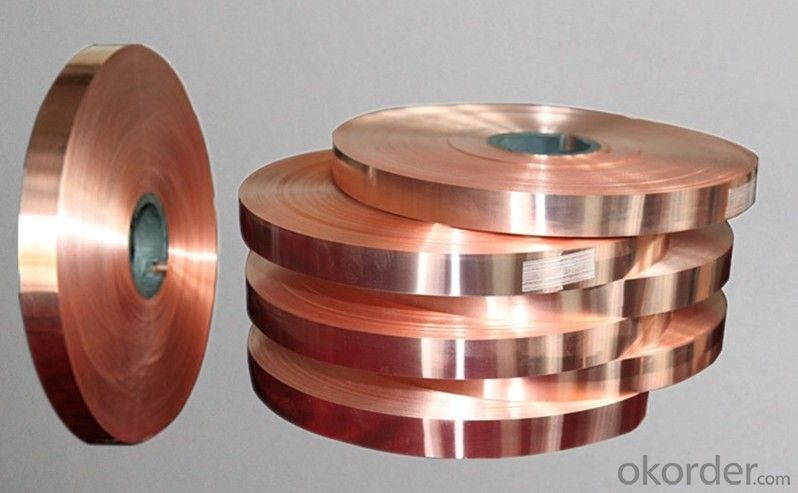 Copper Lamination Foil for Cable Foil and Package