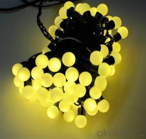 40MM Big Ball (Strawberry) LED String Lights Super Bright