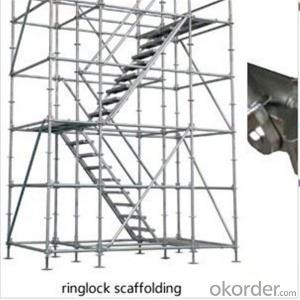 Ringlock System Tri-angle Bracket with Rosete 48*3.2*900mm CNBM