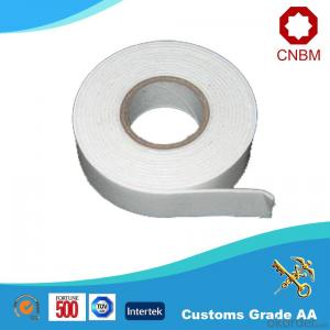 Double Sided Tape with PE Foam EVA Foam Yellow Glassin Paper Hot Melt/Solvent Adhesive